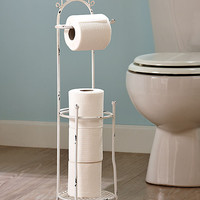 Vintage Bathroom Collection Toilet Tissue Stand
