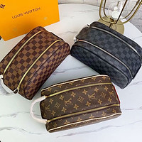 LV Louis Vuitton ladies fashion shopping cosmetic bag leather handbag shoulder bag