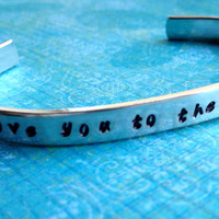 I Love You To The Moon and Back Hand by LaurenElaineDesigns