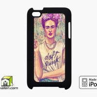 Frida Kahlo Vintage Floral iPod Touch 4th Case Cover by Avallen