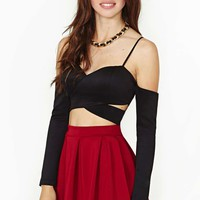 Nasty Gal Josette Crop Top