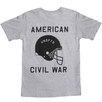 Undefeated - Civil War T-Shirt (Grey)