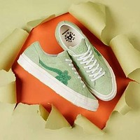 Creator x Converse One Star Ox Golf Le Fleur TTC Canvas Shoes White