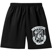 A Day To Remember Men's  Snake Pit Gym Shorts Black