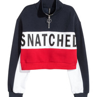 H&M Short Sweatshirt $24.99