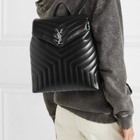 Saint Laurent - Loulou medium quilted leather backpack