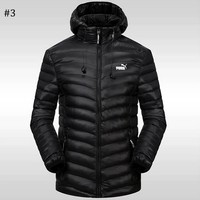 PUMA 2018 winter new sports and leisure warm down jacket #3