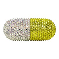Yellow Crystal Pill Pen