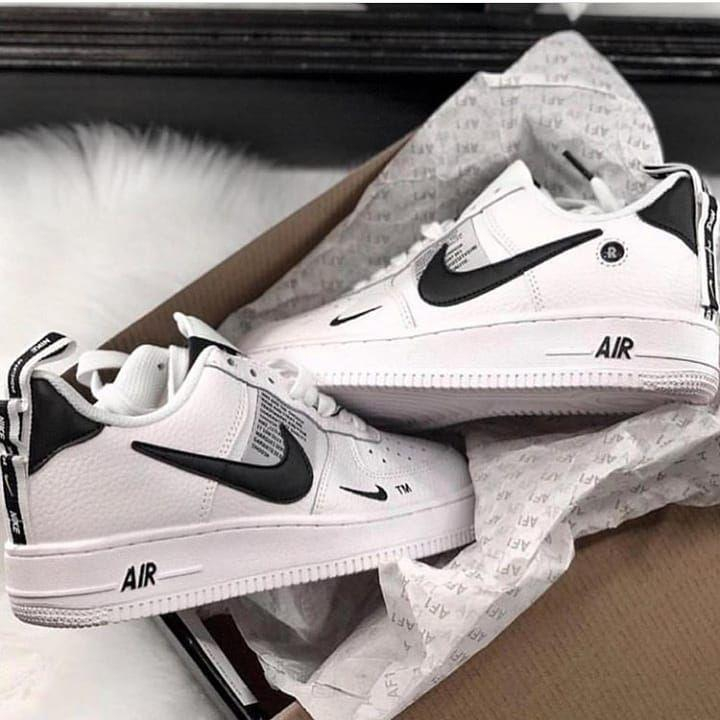 Image of Nike Air Force 1 Low LV8 simple men's and women's low-top all-match sneakers shoes