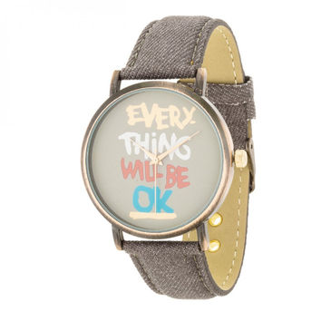 Fashion Inspirational Watch