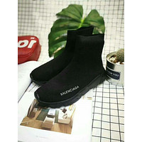 mieniwe? Balenciaga Fashion Women's Casual High-tops Boots Shoes