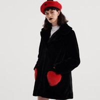 Lazy Oaf Queen Of Hearts Coat - Everything - Categories - Womens