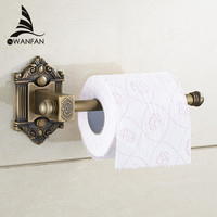 Antique Brass Wall Mount Bathroom Lavatory Rolling Toilet Paper Holder Bathroom Accessories Toilet Roll Holder Wf-71207