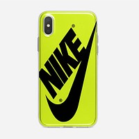 Nike Just Do It Water Marble Pastel iPhone XS Case