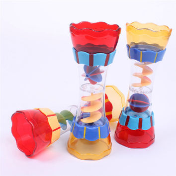 Plastic Bath Swim Toy Water Whirly Wand Cup Beach Toy For Toddler Kid Baby Boys Children Gifts