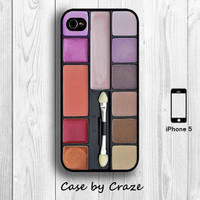 iPhone 5 / 5S Eyeshadow Mackup Set Hard Case / Back Cover