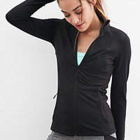 Textured Athletic Jacket