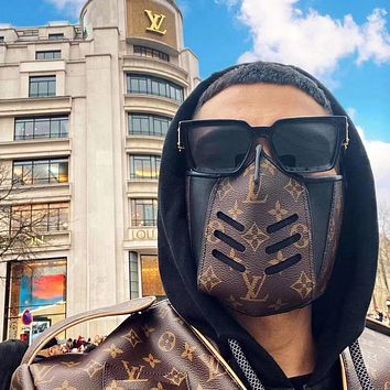 LV new simple men and women non-disposable masks
