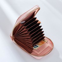 11 Card Slots Card Holder Stylish Tassel Small Wallet Purse For Women