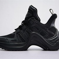 Louis Vuitton Sci-Fi Sneakers Black