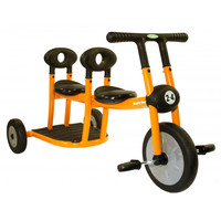Italtrike Pilot 200 2 Seat Tricycle Orange 200-10