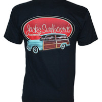 Shop Jack's Surfboards Country Squire Tee in Blue | Jack's Surfboards