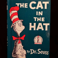 The Cat in the Hat by Dr. Seuss (Hardcover, 1985)