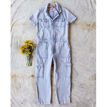 Rosie Coverall Utility Jumpsuit in Lilac