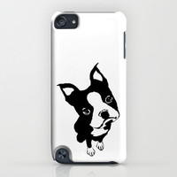 Boston Terrier iPhone & iPod Case by LittleBlueFeathers