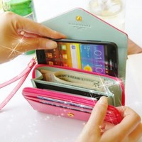 New Crown smart pouch Wristlet Cell Phone Wallet Pouch #handydandy, #all,