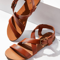 Maddie Leather Sandal | Urban Outfitters