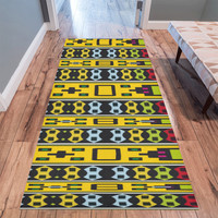Shapes rows Area Rug 10'x3'3'' | ID: D2454278