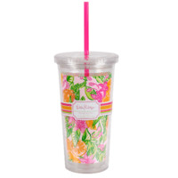 LILLY PULITZER: Tumbler - Peelin Out