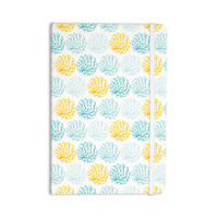 """Anchobee """"Coralina"""" Teal Yellow Everything Notebook"""