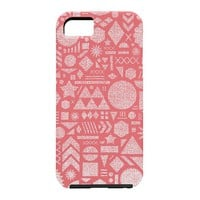 Nick Nelson Modern Elements In Bubble Gum Cell Phone Case