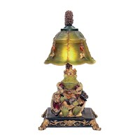 Resting Queen Frog Mini Table Lamp