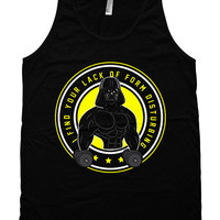 Funny Workout Tank I Find Your Lack Of Form Disturbing Weight Lifting Tank American Apparel Training Gifts Fitness Unisex Mens Tanks WT-202
