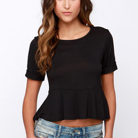 Casual Suspects Black Top