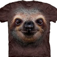The Mountain Men's Sloth Face T-Shirt