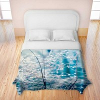 Duvet Cover Brushed Twill from DiaNoche Designs by Monika Strigel Home Décor and Bedroom Ideas - Galaxy Dew St Rigel