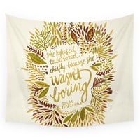 Society6 Zelda Fitzgerald - Fall Palette Wall Tapestry