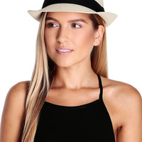 Jane Straw Fedora-FINAL SALE