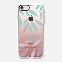 Pastel boho feathers iPhone 7 Case by Vasare Nar | Casetify