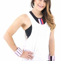 Women's Muscle Tank with Front Pocket