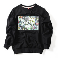 Brooklyn Embroidered Unisex Sweatshirt