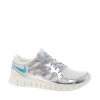 Nike | Nike Free Run 2 Prm Ext Silver Trainers at ASOS