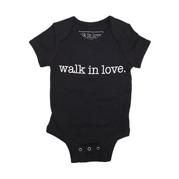 walk in love. black Onesuit
