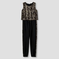 Girls' Jump Suit Xhilaration™ - Black