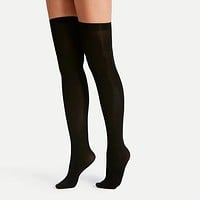 Fashion Casual Over-the-Knee Opaque Socks