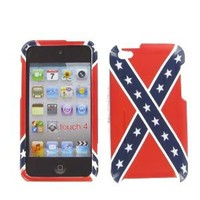 Rebel Flag Protective Case for Apple iPod Touch 4